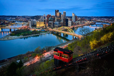 Downtown Pittsburgh, PA